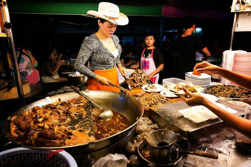 quán ăn tại chiang mai