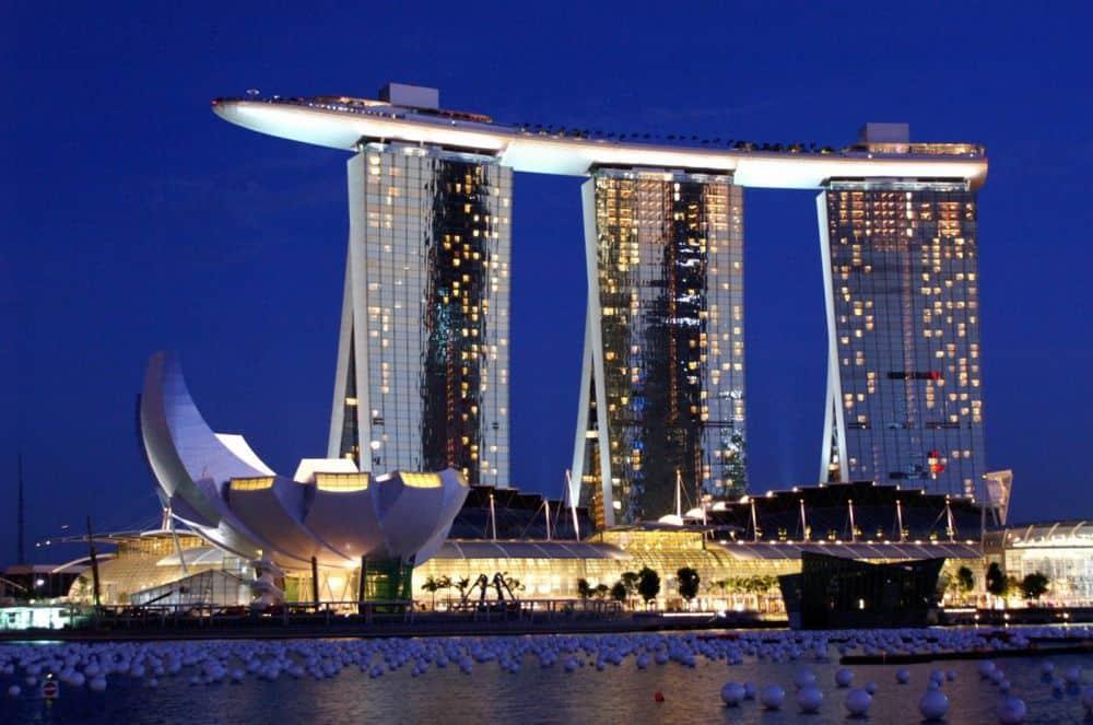 marina bay sands khách sạn đắt nhất Singapore