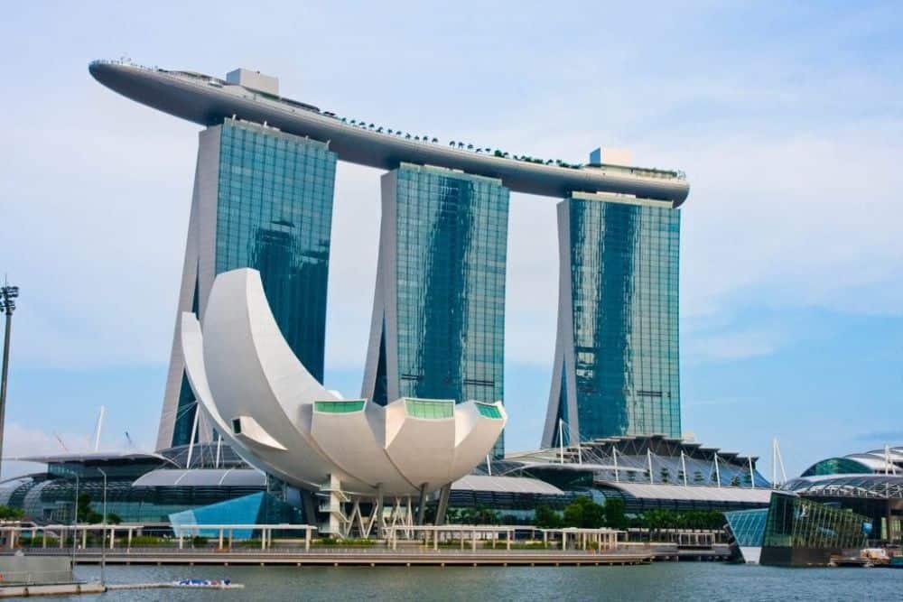 bể bơi vô cực singapore