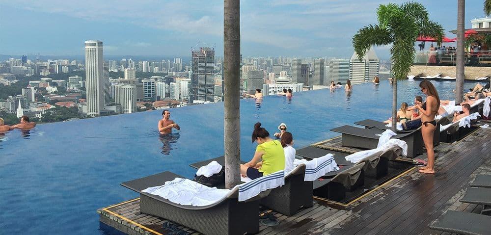 bể bơi sky park
