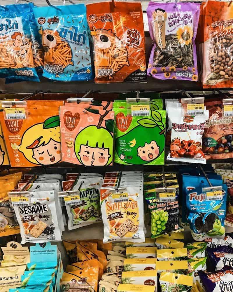 Vô số các loại snack cho bạn tha hồ chọn lựa