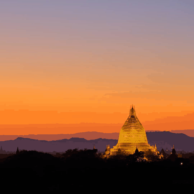 Thời điểm đẹp nhất của Myanmar