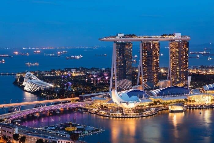 khách sạn đắt nhất Singapore