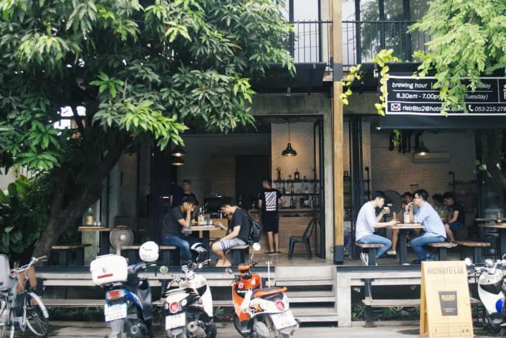Quán cà phê đẹp ở Chiang Mai