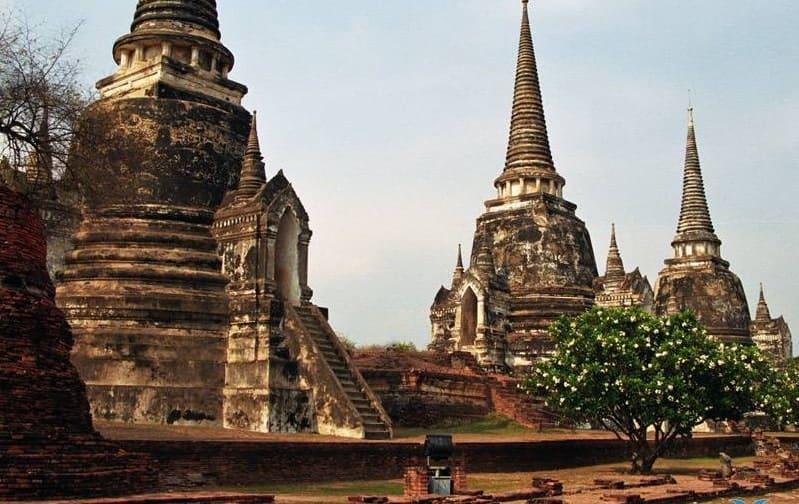 Du lịch Ayutthaya Thái Lan