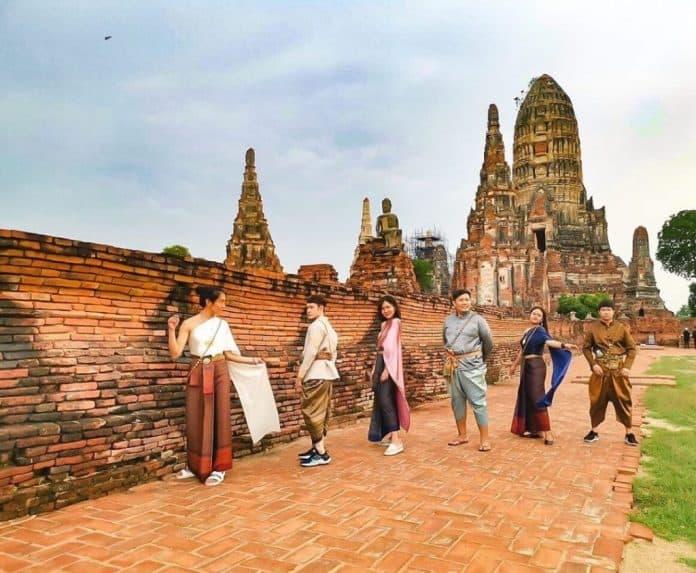 Du lịch Ayutthaya Thái Lan tự túc