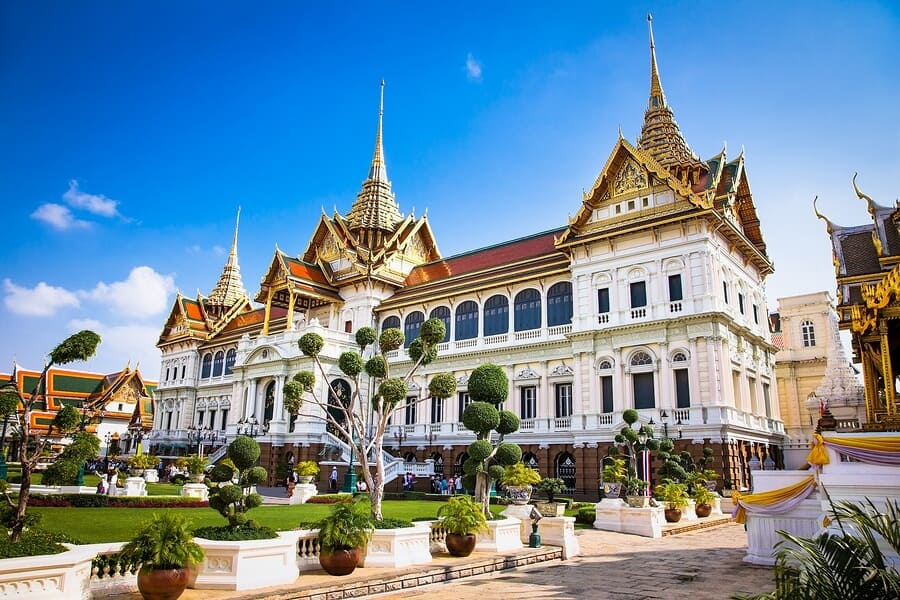 Cung Điện Dusit Prasat Palace