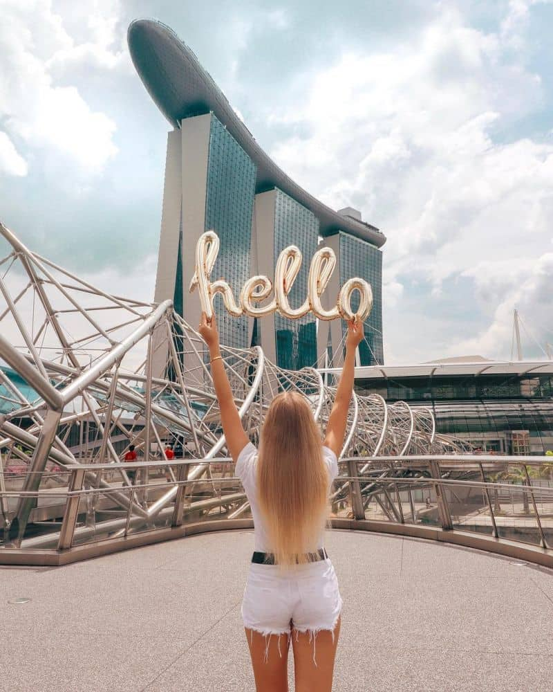 Marina Bay Sands Skypark độ cao