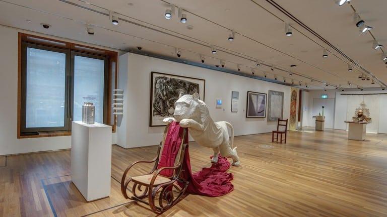 các triển lãm tại National Gallery Singapore