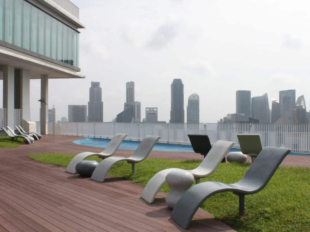 Những chiếc ghế để thư giãn hoặc tắm nắng