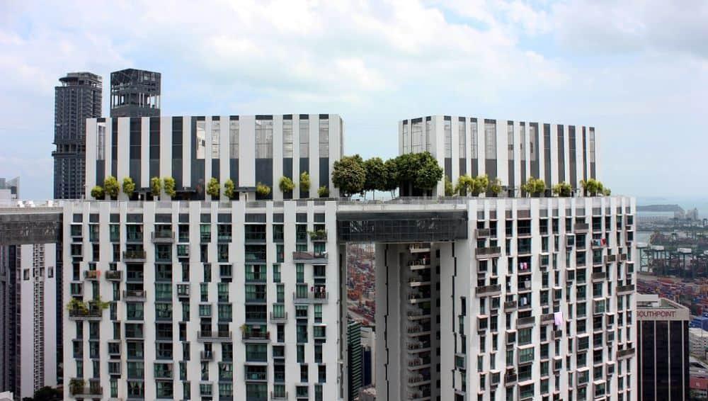 Pinnacle Duxton ở Singapore