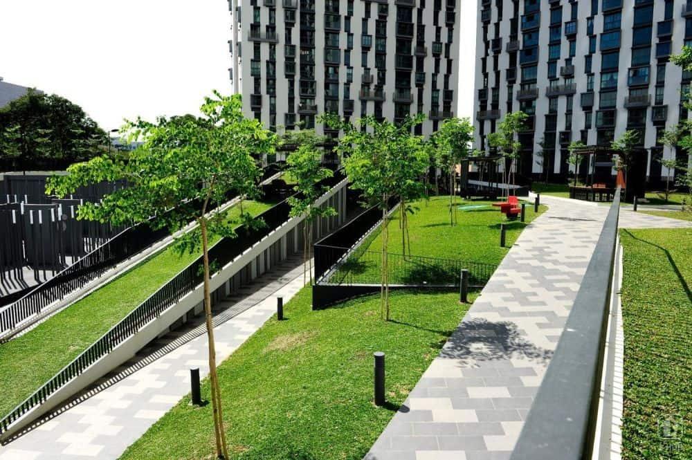 Thiết kế đường để đi bộ của tòa nhà