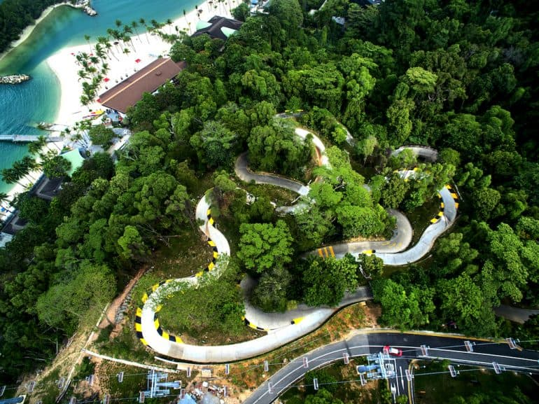 địa điểm tham quan ở singapore