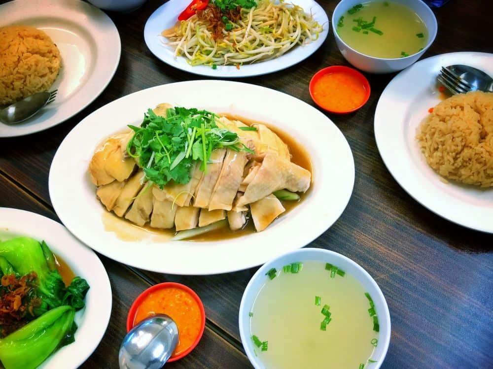 cơm gà hải nam singapore