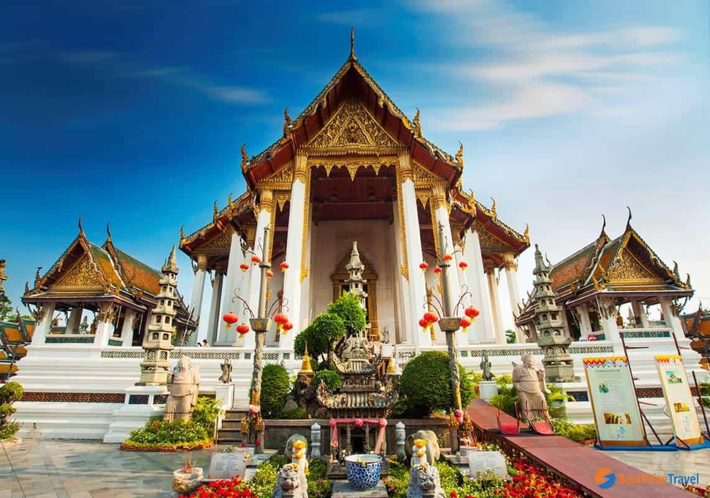 chùa nên đi ở bangkok