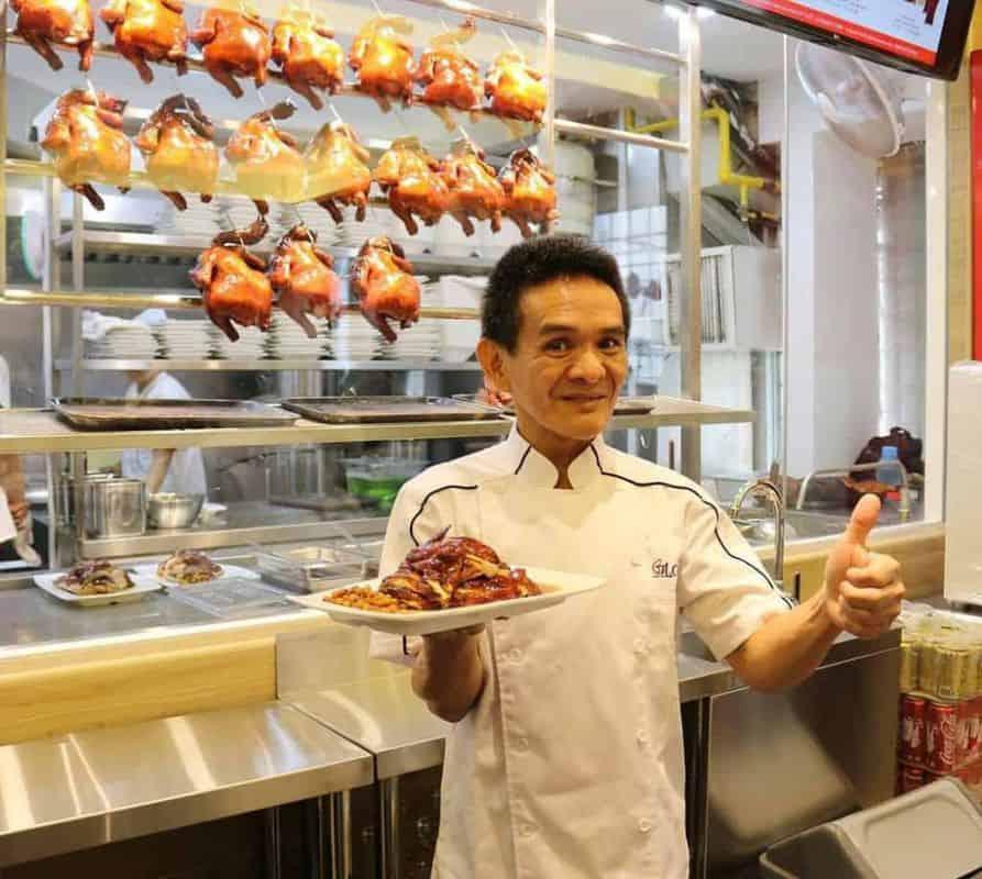 Cơm gà Michelin Singapore