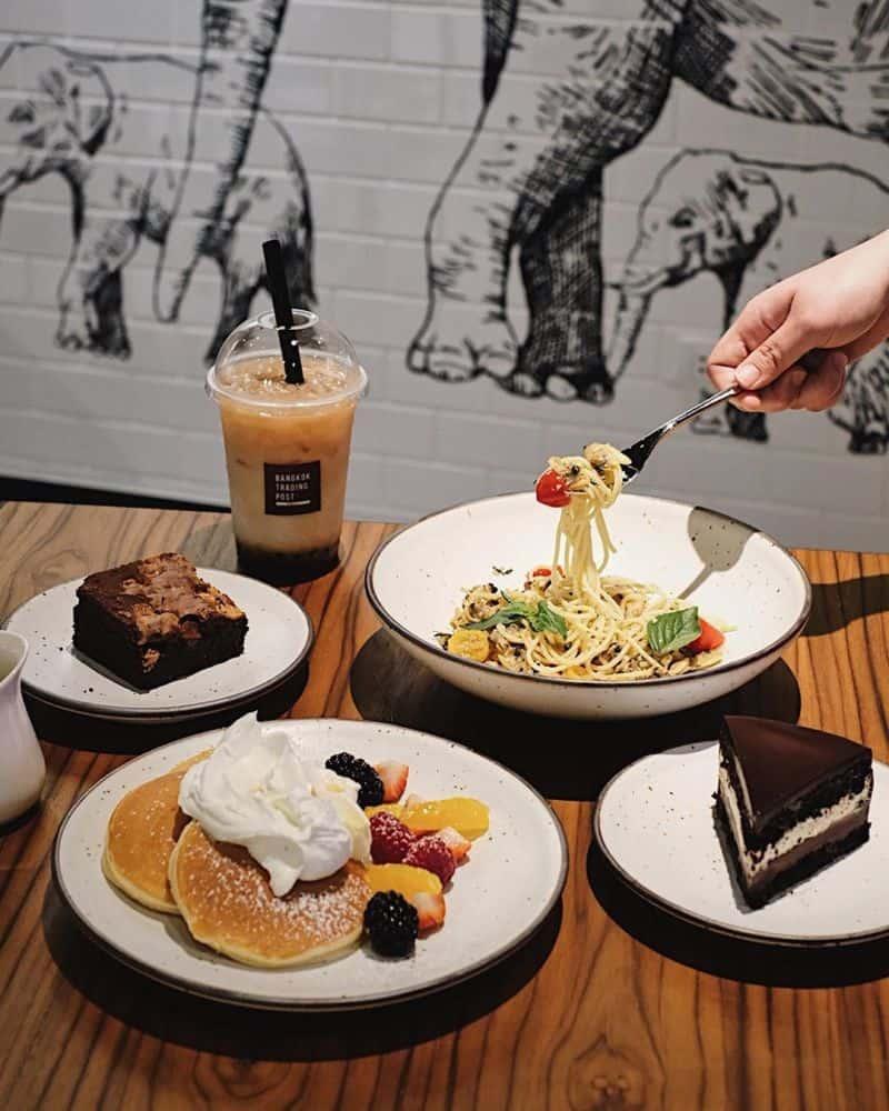Địa điểm ăn sáng ở Bangkok