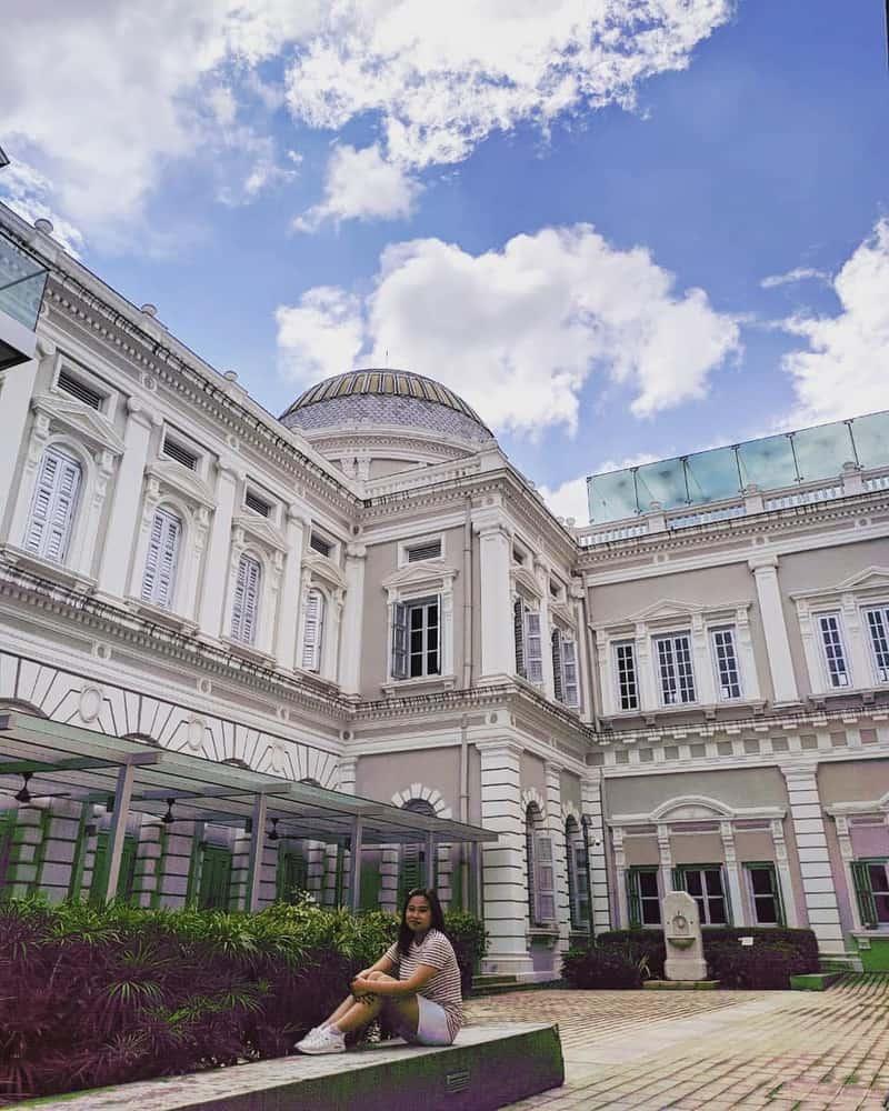 bảo tàng quốc gia singapore