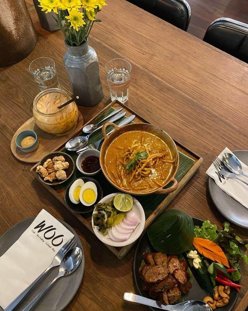 Woo Cafe ở Chiang Mai