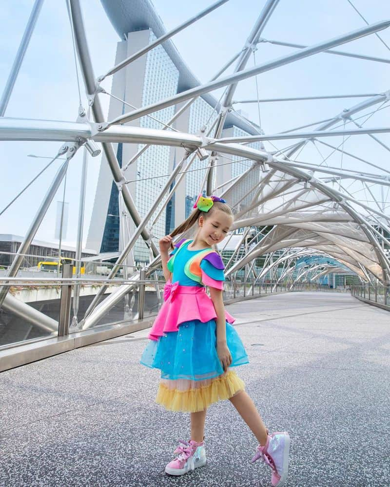 cầu helix ở singapore
