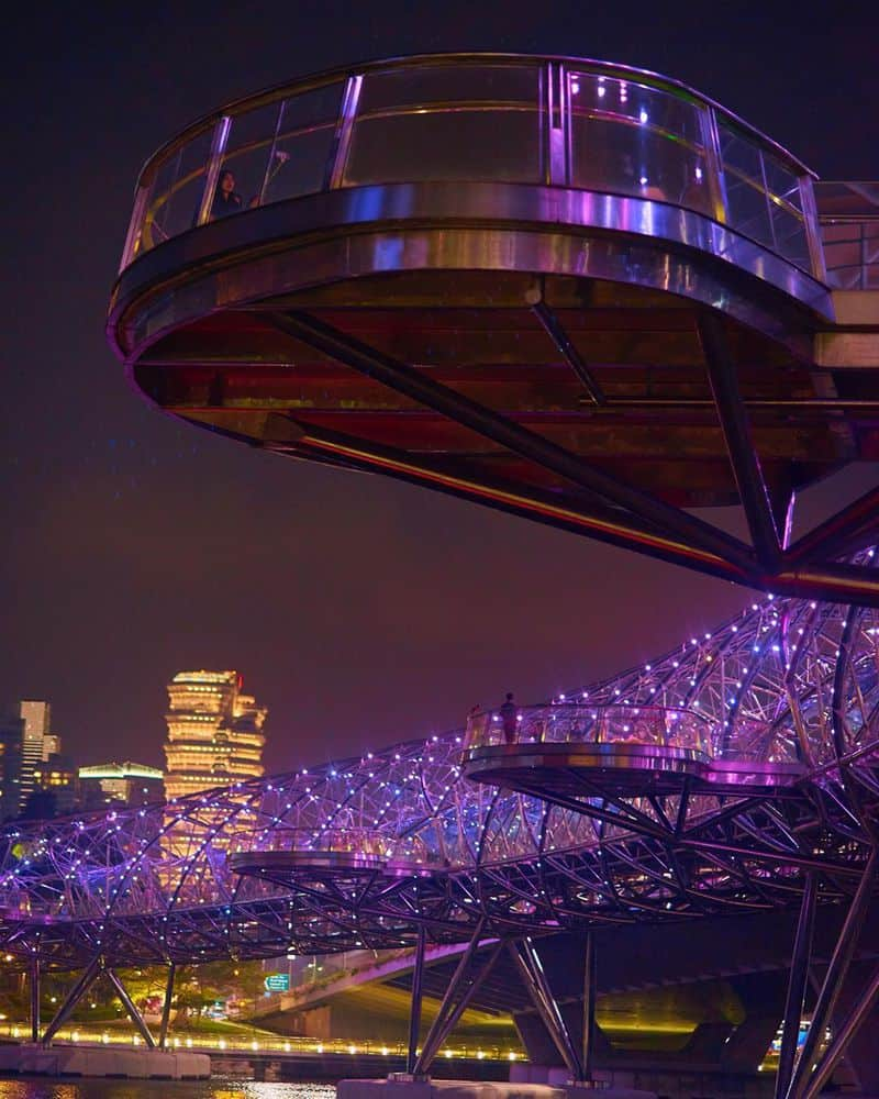 cầu helix tại singapore