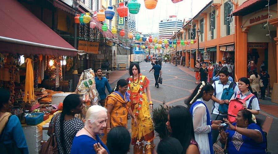 chợ đêm tại singapore