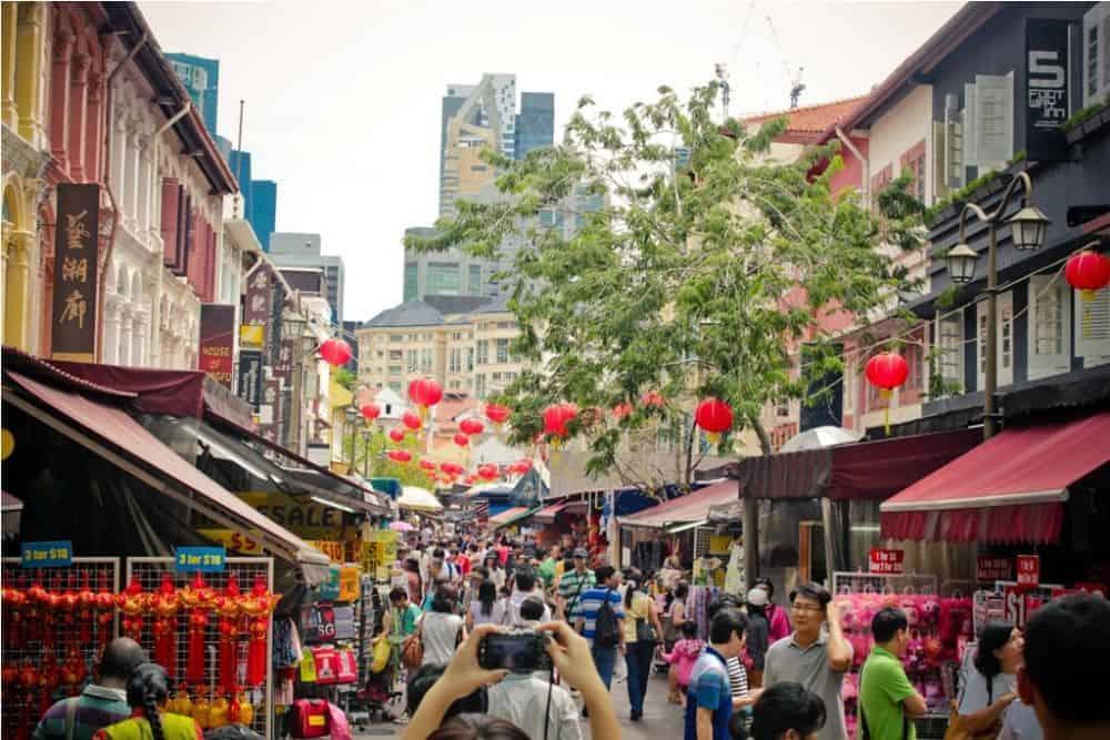 chợ đêm Singapore