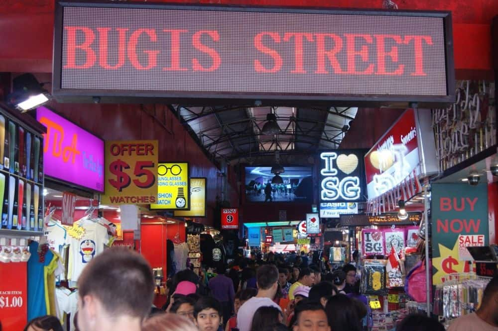 chợ đêm bugis singapore