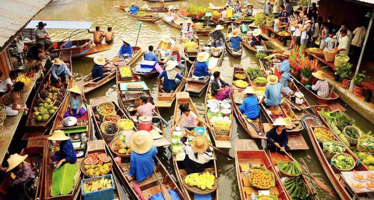 Chợ Nổi 4 miền Pattaya