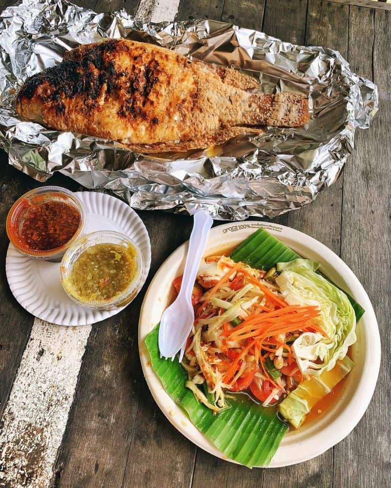 tham quan Chợ nổi Khlong Lat Mayom