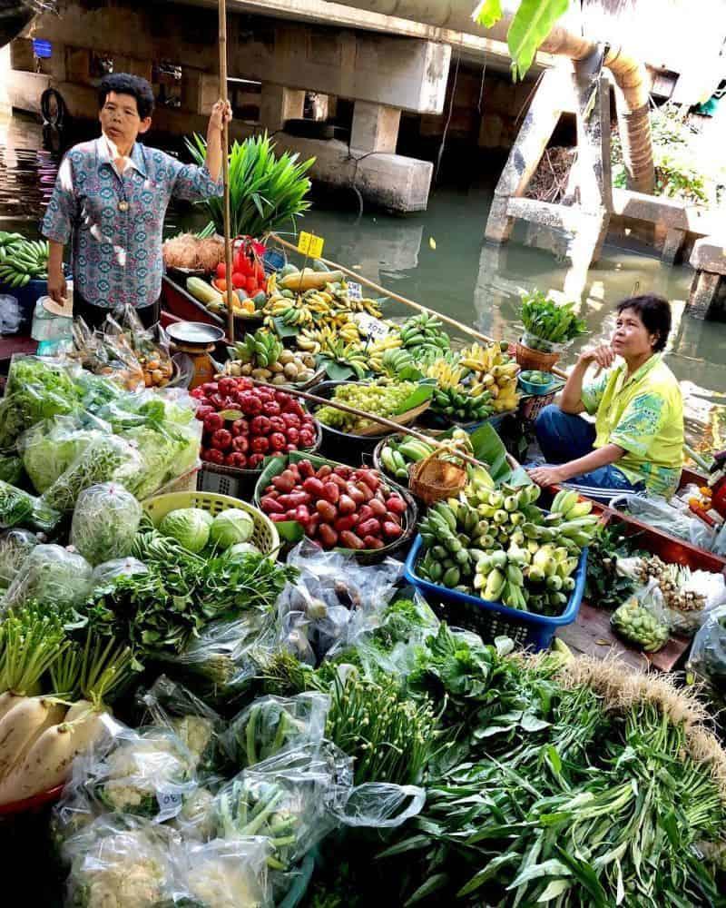 Chợ nổi Khlong Lat Mayom ở đâu
