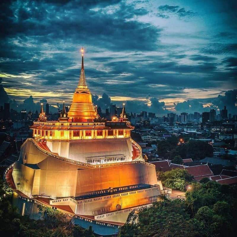 đi chùa ở bangkok