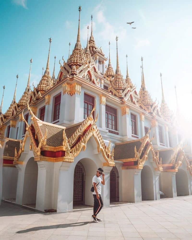 các chùa đẹp ở bangkok