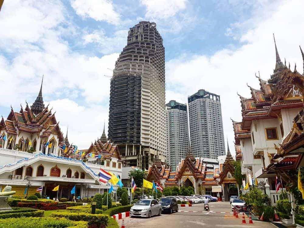 Tham quan chùa Thuyền Thái Lan