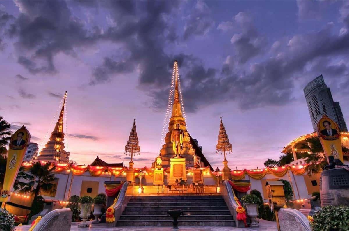 Chùa Thuyền ở Thái Lan