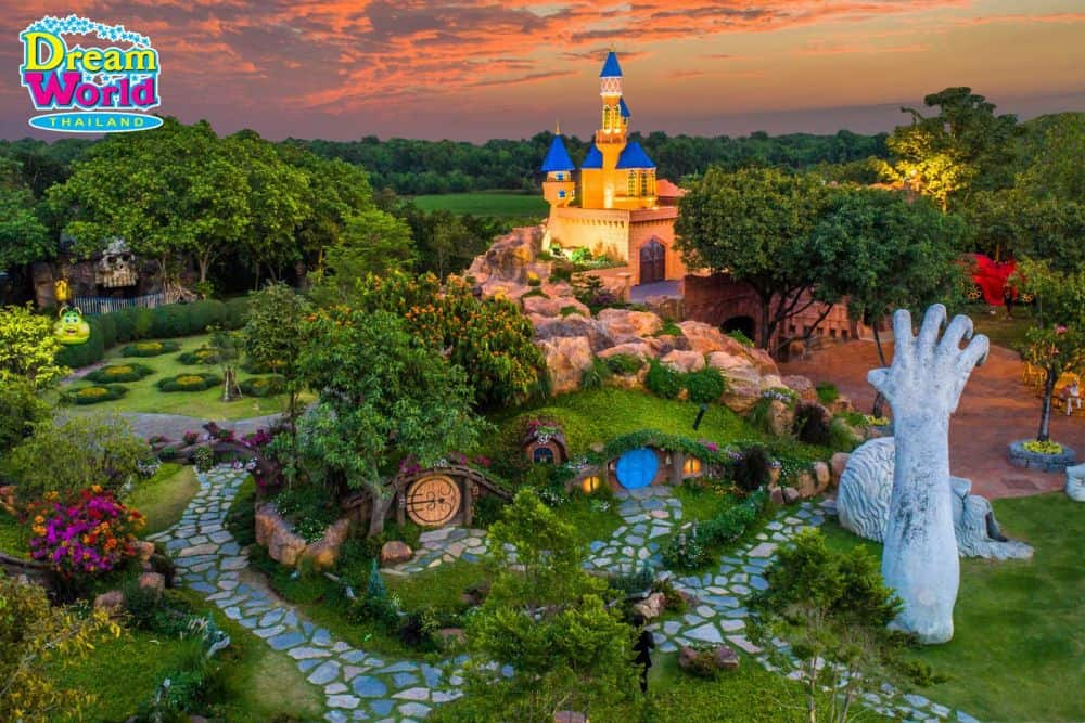 Dream Garden ở công viên Dream World Bangkok