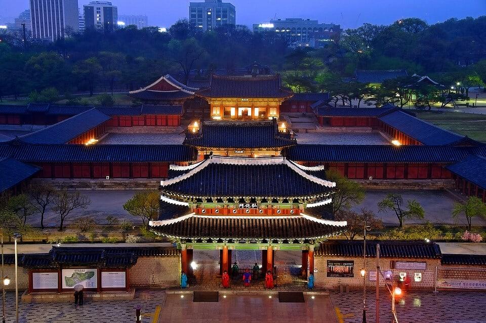 Cung điện hoàng gia Gyeongbokgung