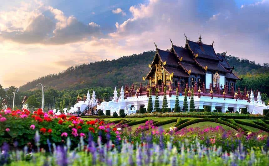 Cung điện mùa hè Chiang Mai Phu Ping Palace
