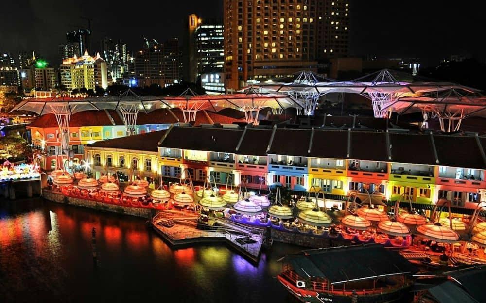 đi singapore nên ở khu nào