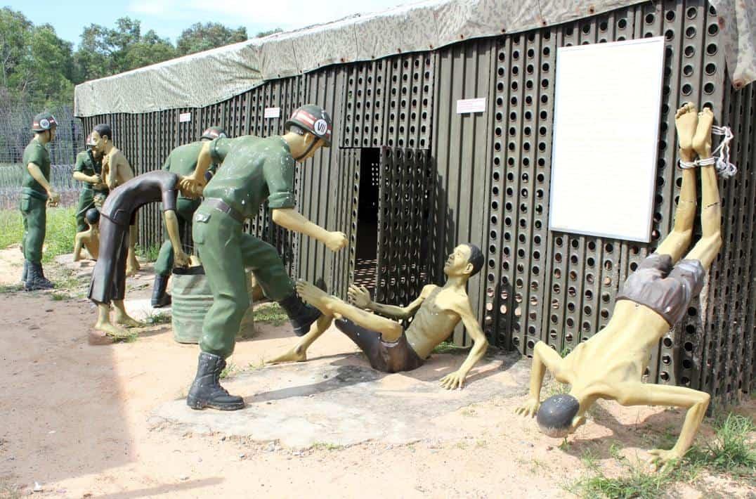 Một cảnh của nhà tù Phú Quốc