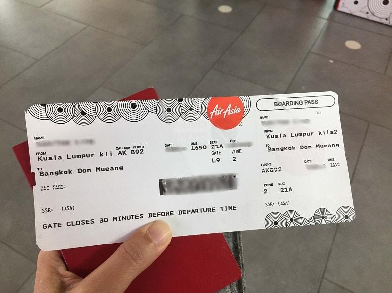 du lịch Thái Lan cần giấy tờ gì
