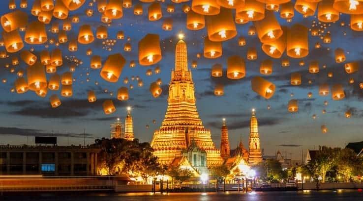 Khu du lịch ở Thái Lan