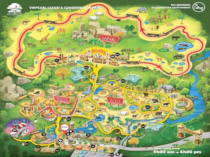 Giá Vé Vinpearl Safari Phú Quốc
