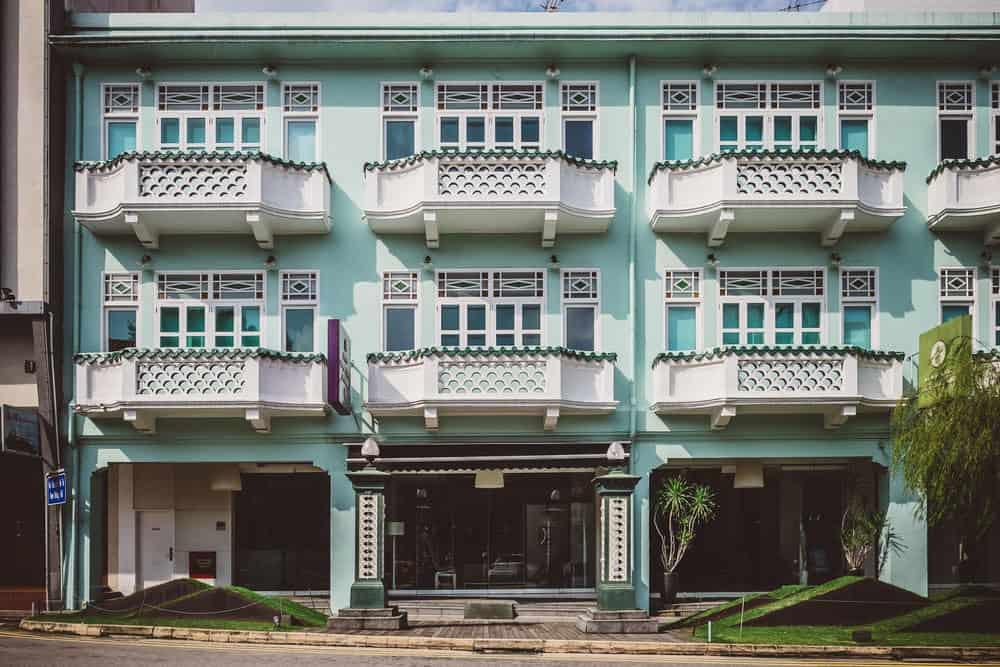 khách sạn khu Chinatown Singapore