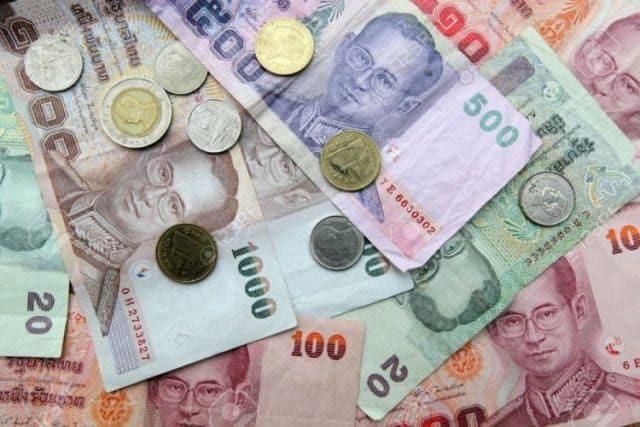 Các loại tờ tiền Thái Lan