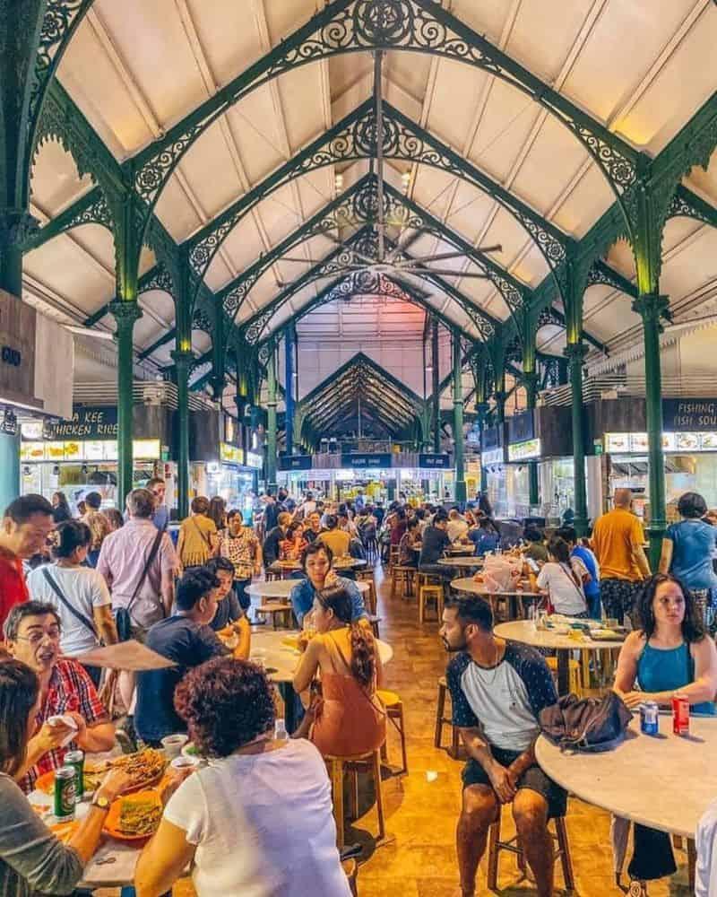 Lau Pa Sat Singapore