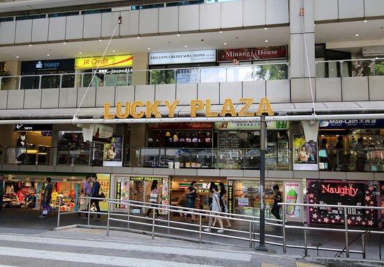 Orchard Road tại singapore
