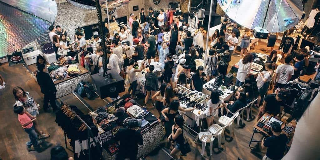 chợ nghệ thuật singapore