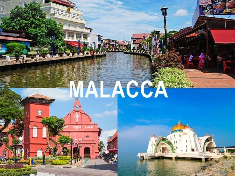 Thời điểm du lịch Malacca Malaysia