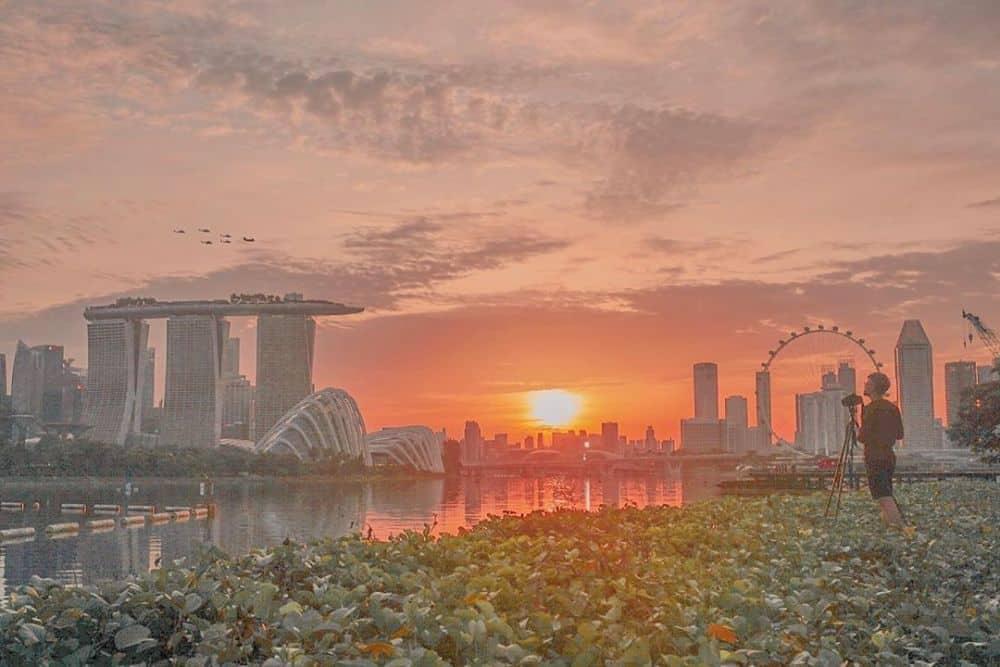 Đập nước Marina Singapore
